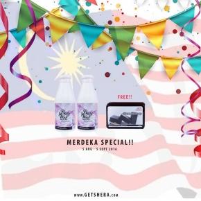 MERDEKA SPECIAL 11 -  BUY 2  GET FREECHARCOAL SOAP WORTH RM70!