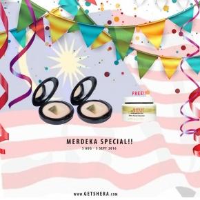 MERDEKA SPECIAL 5 -  BUY 2 GET FREE DETOX FACIAL CLEANSER WORTH RM60!